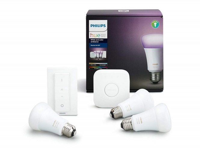 Philips Hue Kit de iniciación 3 bombillas White color E27