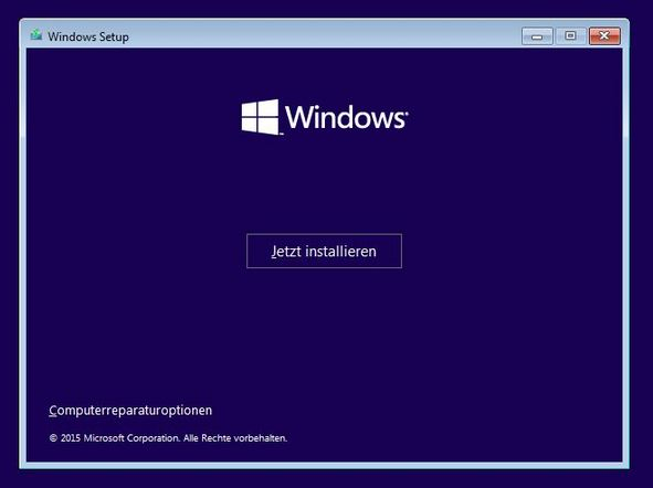 Windows 10 neuinstallationJPG