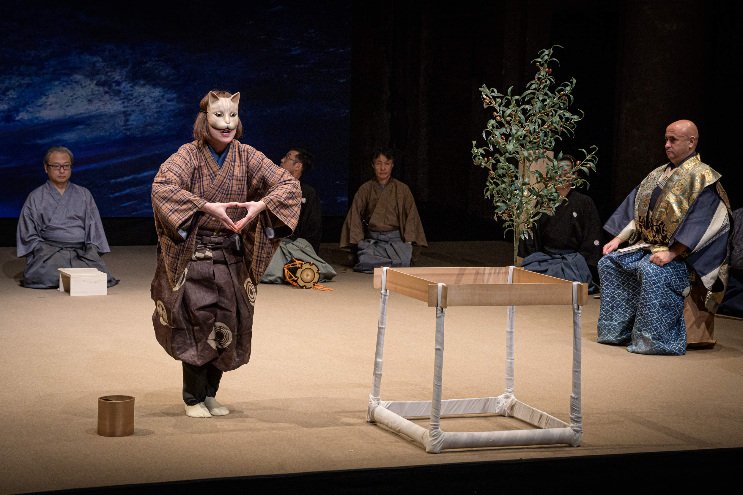 Tessenkai Noh-Compagnie Tokyo on tour in Europe and Japan
