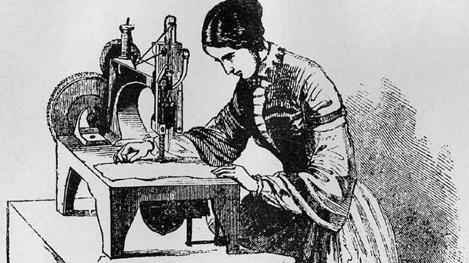 Revolution Of Sewing Machine Mesmerizing Who Invented The Sewing Machine In The Industrial Revolution
