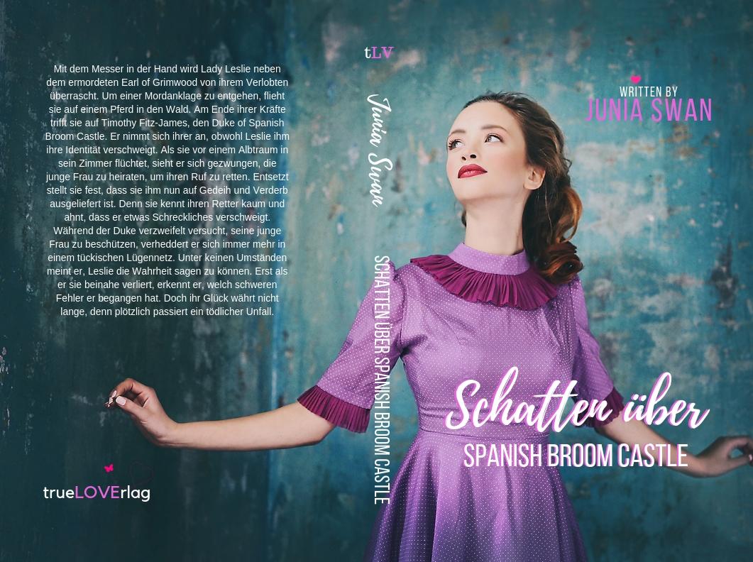 Buchcover Schatten ber Spanish Broom Castlejpg