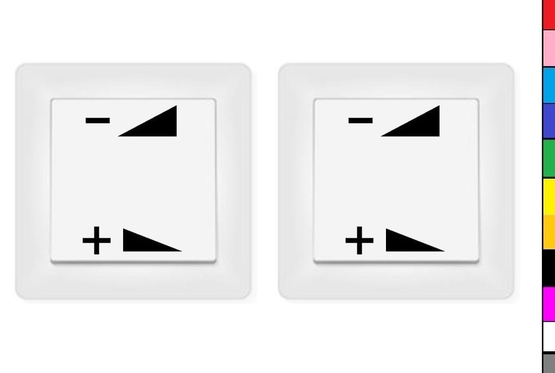 246//2//10 2x auf zu Aufkleber Schalteraufkleber Schalter