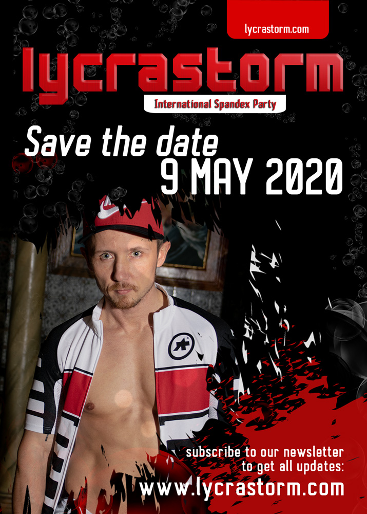 Save the date lycrastorm 2020