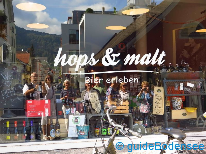 hops & malt in Bregenz