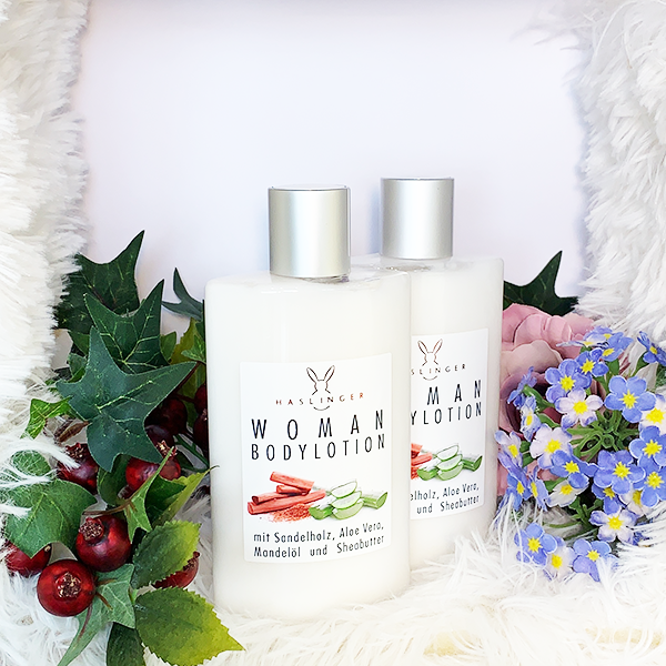 Woman Bodylotion 200 ml - Haslinger Naturkosmetik