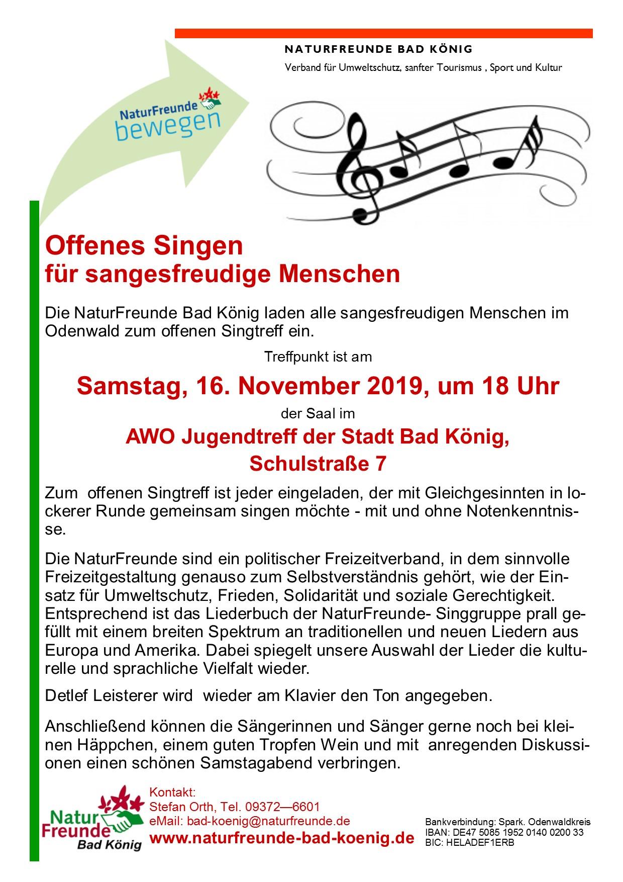 Offenes Singen  16-11-2019jpg