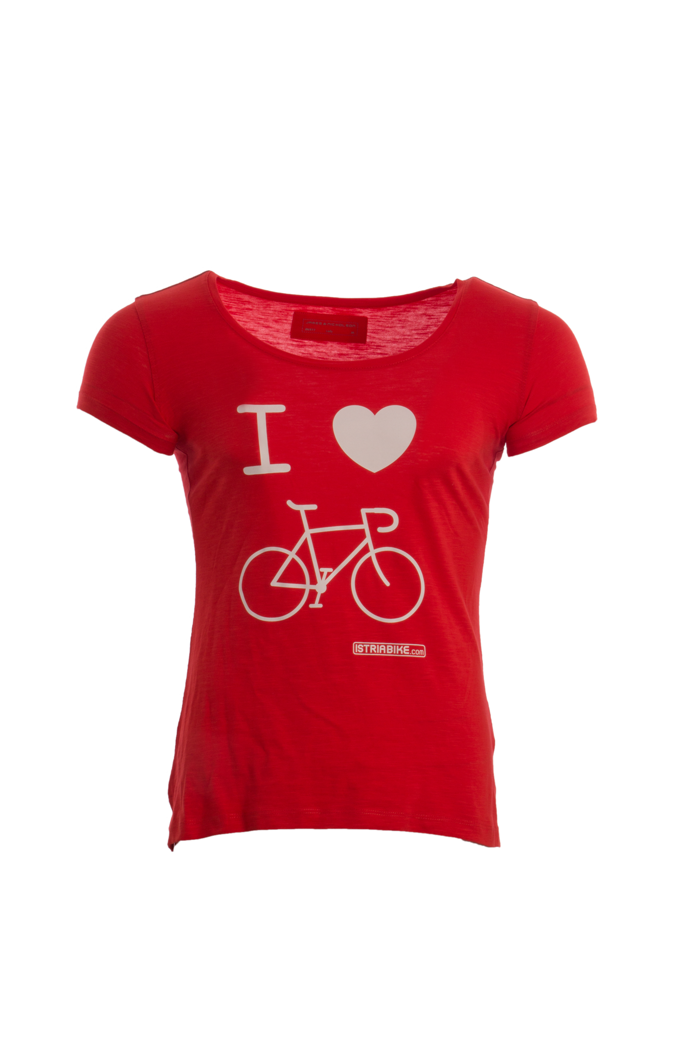 "Lifestyleshirt Damen ""I love bike"""