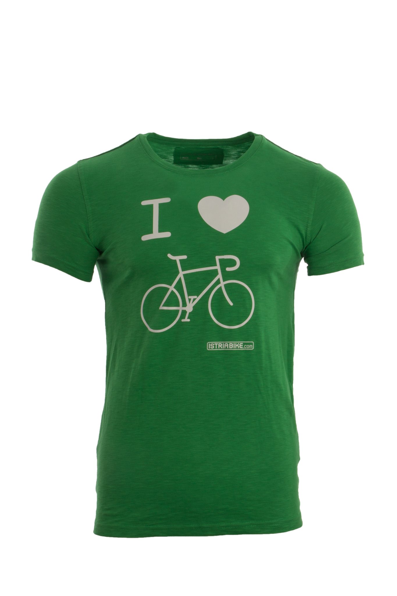 "Lifestyleshirt Herren ""I love bike"""