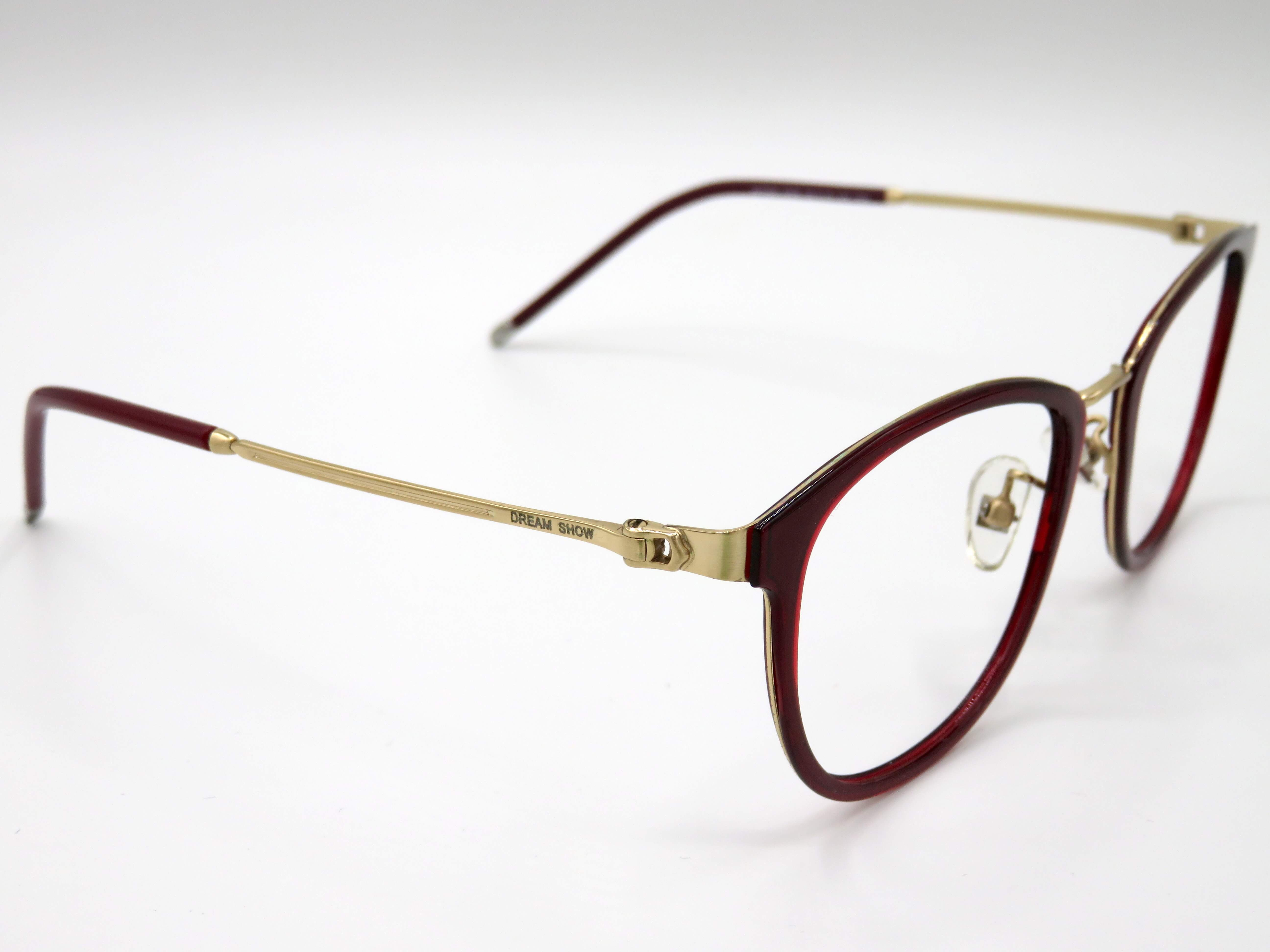 Lesebrille, Mod. Dream, rot/gold