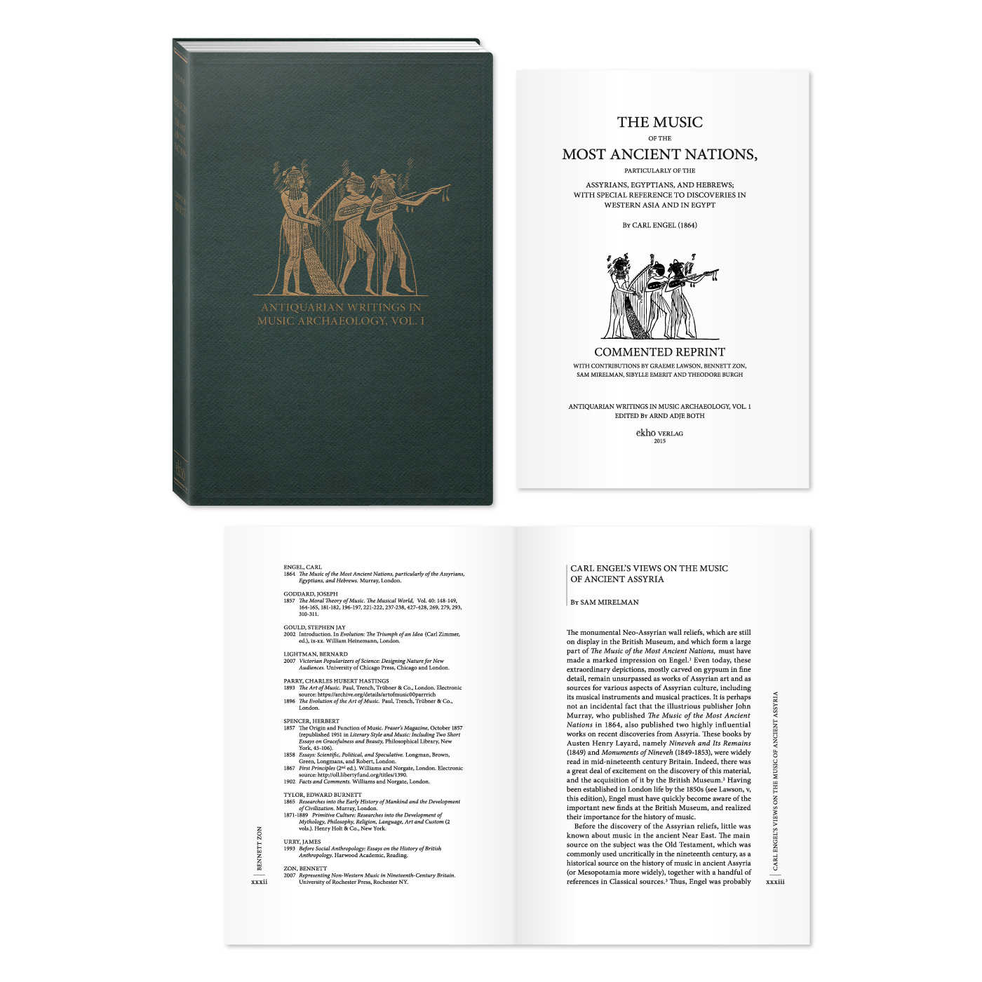 ANTIQUARIAN WRITINGS IN MUSIC ARCHAEOLOGY · Carl Engel · Commented Reprint | www.ekho-verlag.com