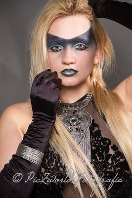 Model Alexandra Schein,  Make-up von www.opulent-beauty.ch