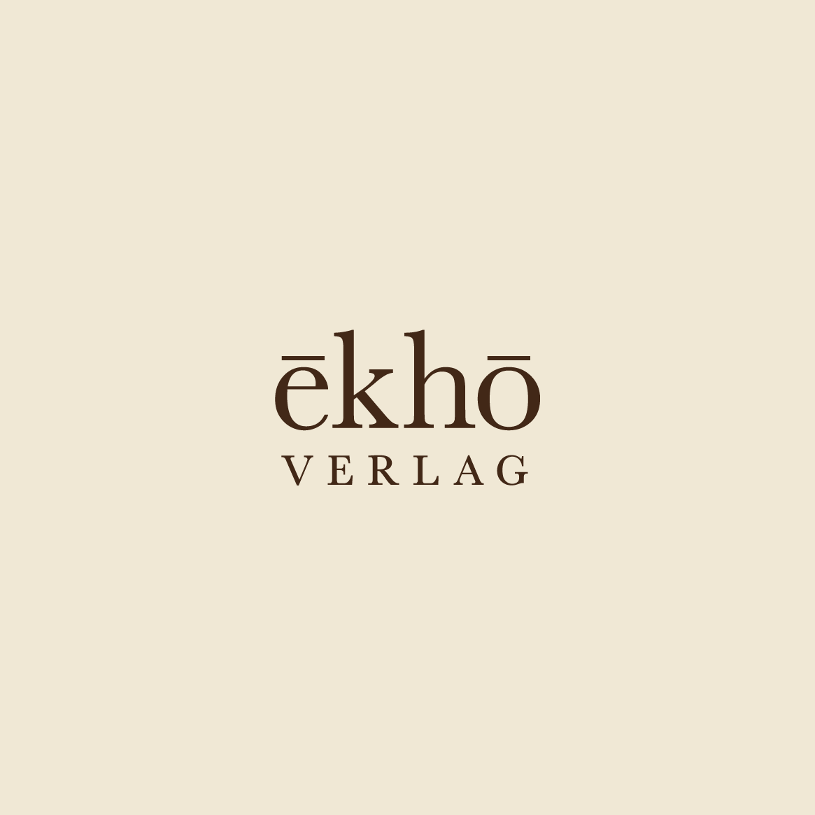 Publishing House For Music Archaeology | Berlin | www.ekho-verlag