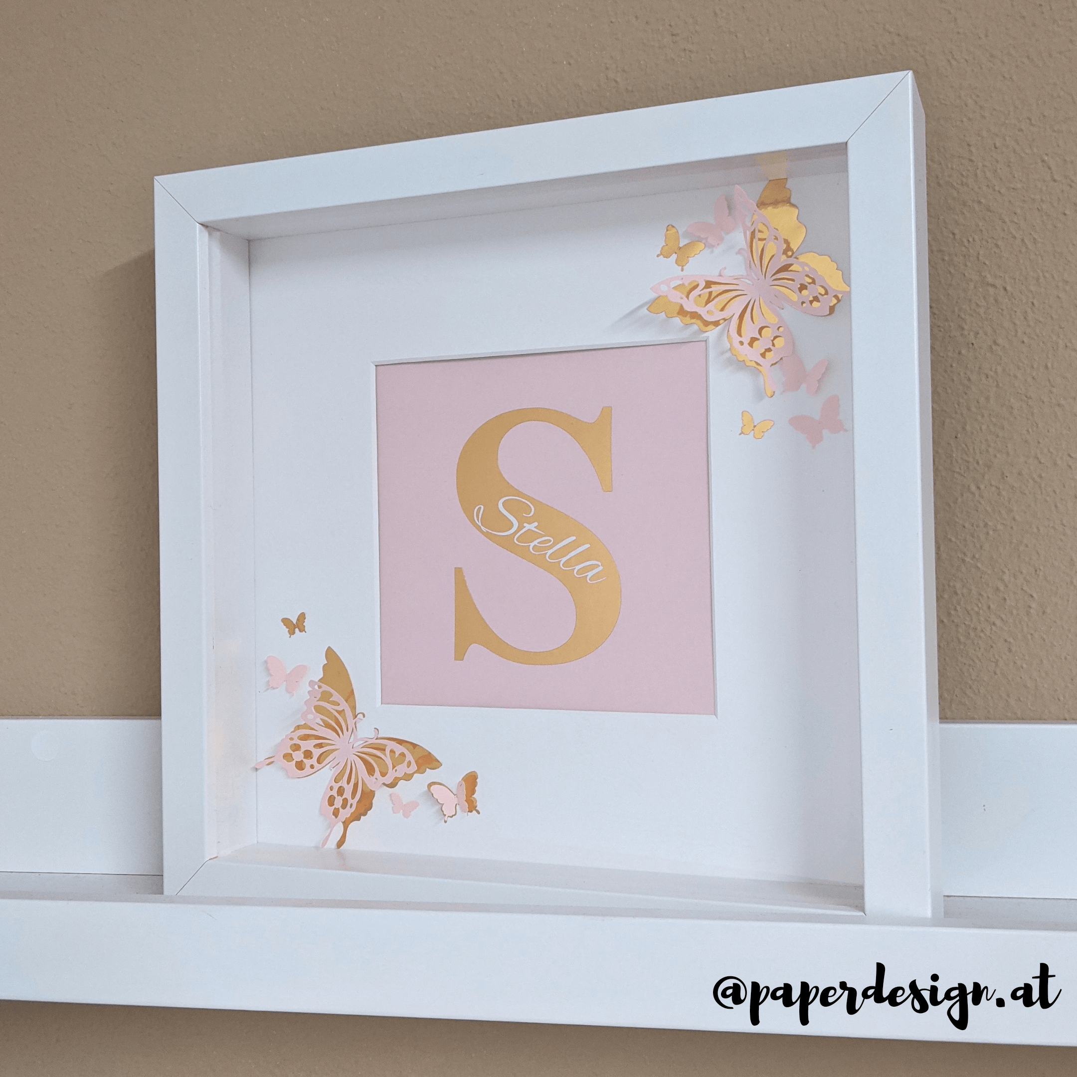 "Shadow Box ""Butterfly"""